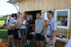 Siegerehrung mit Bürgermeister DI Kirchsteiger